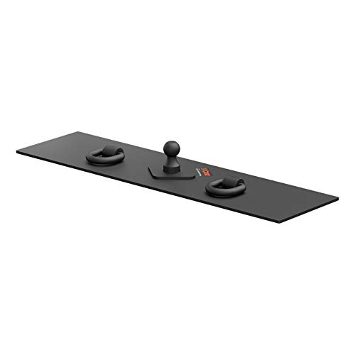 - CURT 65500 Over-Bed Flat Plate Gooseneck Hitch, 30,000 lbs., 2-5/16-Inch Ball