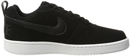 Nike Wmns Court Borough Low, Zapatillas de Baloncesto para Niñas Negro (Negro (black/black-white))