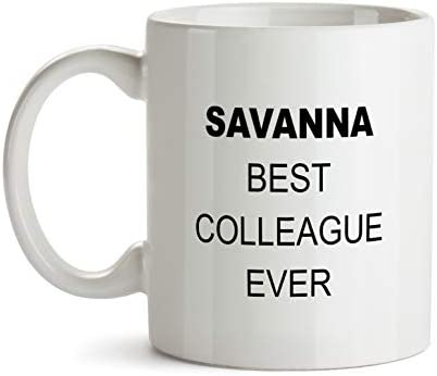 Savanna Best Colleague Ever Gift Mug
