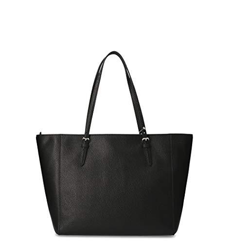 Pelle 57450liblk Shopping Coach Borsa Nero Donna SPIaxHWqw