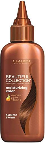 Clairol Professional Beautiful Collection Semi-permanent Hair Color, Darkest Brown
