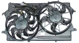 TYC 620720 Ford Focus Replacement Radiator/Condenser Cooling Fan Assembly (Cooling Fan Ford Focus compare prices)