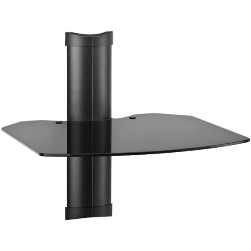 OMNIMOUNT TRIA 1 TRIA1B 1-Shelf Wall Furniture System (Black)