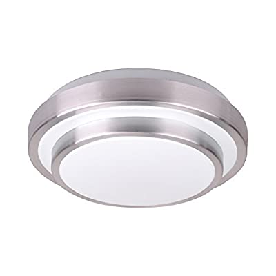 "Modern LED Flush Mount 15w 1500lm Aluminum Acrylic Ceiling Light 11"" Round"