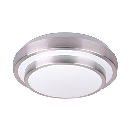 Aluminum Acrylic (Modern LED Flush Mount 15w 1500lm Aluminum Acrylic Ceiling Light 11