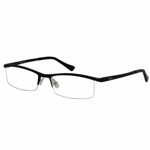 EyeBuyExpress Rectangle Black Reading Glasses Magnification Strength 0.25 by EyeBuyExpress