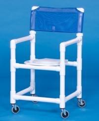 IPU VL SC16 Standard Slant Seat Shower Chair 16 Inch -