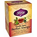 Yogi Herbal Tea Perfect Energy Vanilla Spice -- 16 Tea Bags