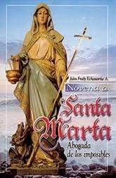 Novena A Santa Marta Abogada De Los Imposibles John Fredy Echavarria 9789586923064 Books