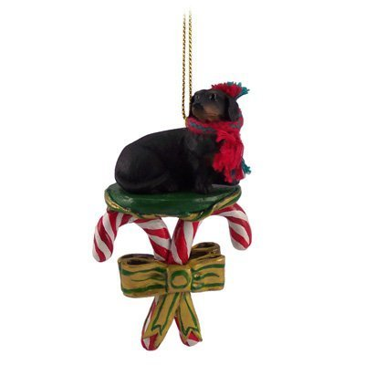 Conversation-Concepts-Black-Dachshund-Candy-Cane-Christmas-Ornament