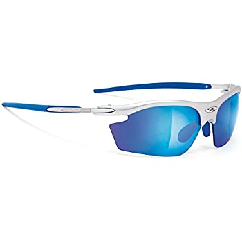 Amazon.com: Rudy Project RYDON SILVER FRAME WITH MULTILASER BLUE ...
