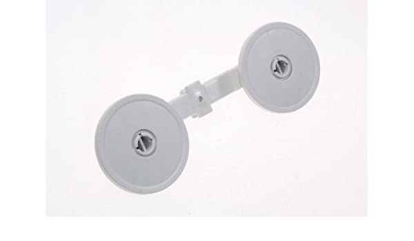 Miele - Ruleta cesta INFERIEUR X2 con soporte para lavavajillas ...