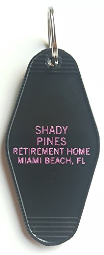 (The Golden Girls Shady Pines Inspired Key Tag