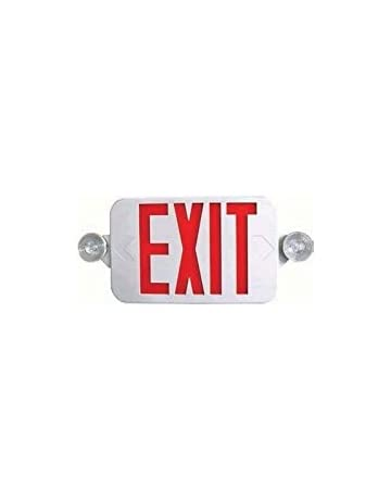 Commercial Lighted Exit Signs Amazoncom Lighting Ceiling Fans