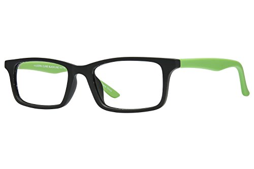 Lunettos Kennedy Childrens Eyeglass Frames - - Lime Green Eyeglasses