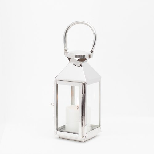 Richland Stainless Steel Revere Lantern Small Set of 4