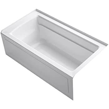 Kohler K 1123 Ra 0 Archer 5 Foot Bath With Comfort Depth