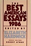 The Best American Essays, 1986, , 0899194672