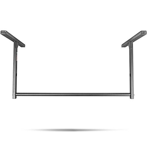 Titan Fitness Medium Stud Mounted Pull Up Bar Chin Up 9' Ceiling Wall Mount WOD