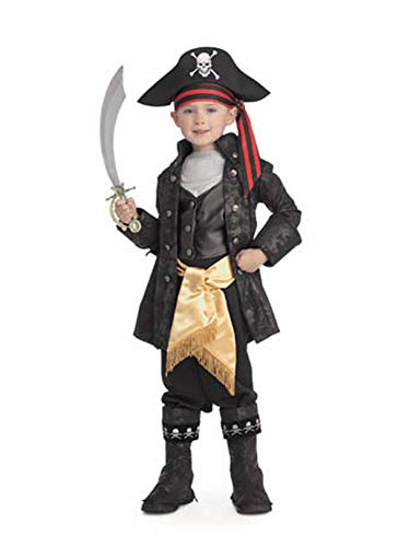 Pirates of the Seven Seas Child's Captain Black Costume, Small]()