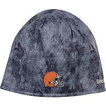 Reebok Cleveland Browns Snake Camo Knit Hat - OSFA (Reebok Equipment Hat Adult)