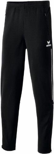 erima Kinder Trainingshose mit Piping, schwarz/weiß, 164, 110331
