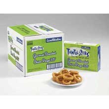 Lamb Weston Tantalizers Gourmet Breaded Onion Ring - Appetizer, 2 Pound -- 8 per case.