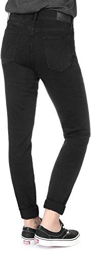 Calvin Klein Mid Rise Negro W Skinny Jeans Vaquero 7pqwZrS7x