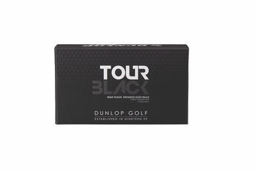 Dunlop Men's Tour Black Golf Balls (Pack of 15), Outdoor Stuffs