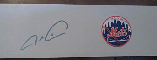 Cy Young Award - Jacob DeGrom Autographed New York Mets Logo Pitching Rubber, New York Mets, Cy Young Award, All Star