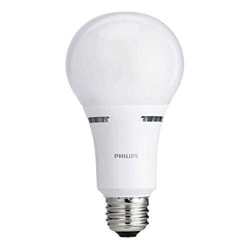 Philips 465146 50-100-150W Equivalent Soft White 3-Way A21 Led Light Bulbenergy Star Certified