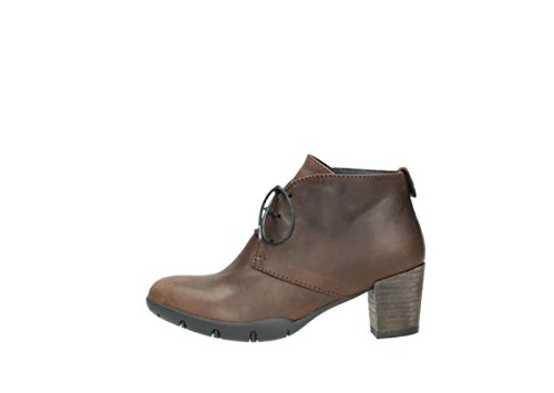 Wolky Comfort Boots 03675 Bighorn 530 brown oiled leather