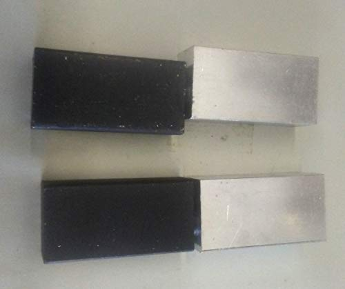 One Pair of 7'' Block Hinges (Choose from Aluminum or Steel) (Combo Alum/Steel) by Fittings Plus Inc (Image #6)