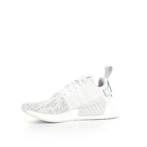 adidas Nmd_r2 W, Zapatillas para Mujer Gris (Ftwr White/ftwr White/grey Two F17)