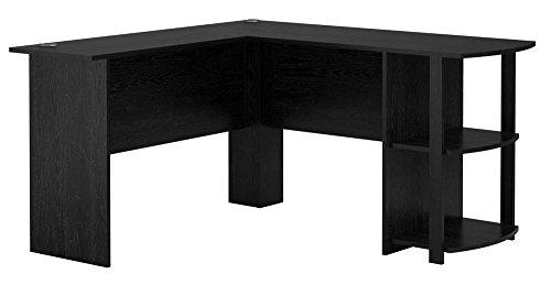 Altra Dakota L Shaped Bookshelves Black product image