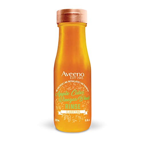 Aveeno Clarifying Apple Cider Vinegar In-Shower Hair Rinse, 6.8 Ounce