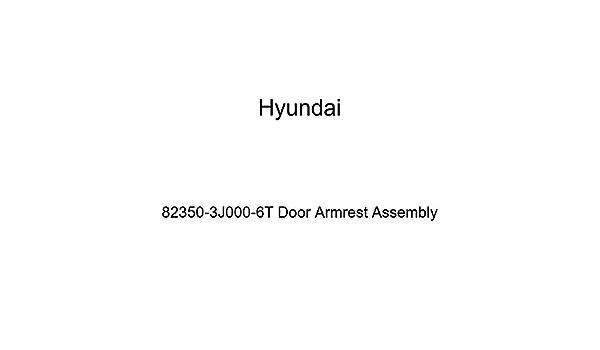 Genuine Hyundai 82360-3L700-X6 Door Armrest Assembly