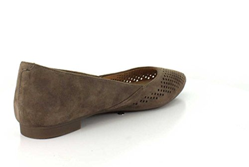 Vionic Women's, Posey Pointed Toe Fashion Flats Taupe