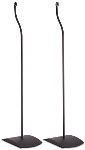 Bose UFS-20 Series II Universal Floor Stands, Black - (Modern Series Floor)