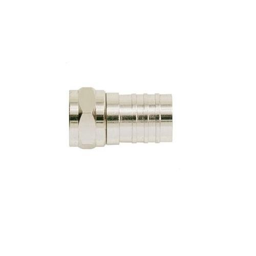 (Ideal 85-017, F-Series Crimp-On Plug, Rg-6, Pack of 500)