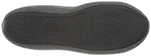 Charcoal Jillian Slipper Foam Indoor All Comfort for Ballerina Dark Memory Around with Isotoner Jersey Women's Heathered Knit wCxIqnSBa