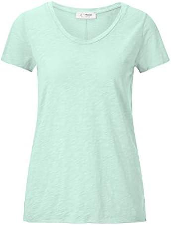 rich&royal T-shirt Jade Mint 1/2Arm luźne dopasowanie E 20S Slub Shirt - l: Odzież
