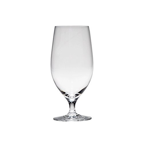 D&V Valore Lead Free, Break-Resistant, European Crystal Glass, Water or All Purpose Glass, 17 Ounce, Set of 6 ()