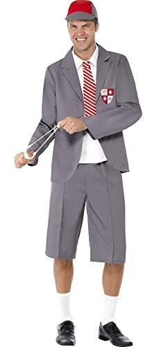 Mens Naughty School Boy Schoolboy Uniform Stag Do Geek Nerd Fancy Dress Costume Outfit M-L (Large)]()