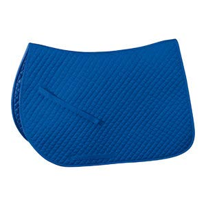 Rider's International by Dover Saddlery Extra-Long Contoured Pad - Royal Blue, 26 X 38
