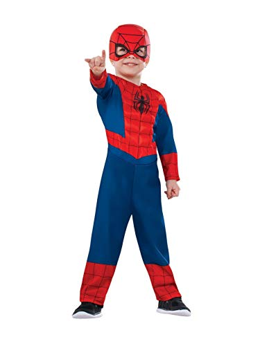 Rubie's Marvel Ultimate Spider-Man Costume, Toddler, As