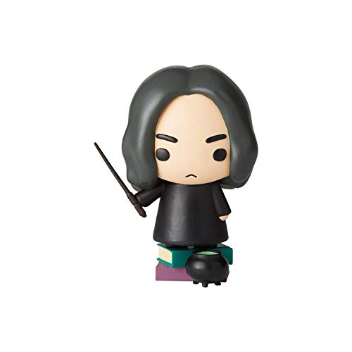 Enesco Wizarding World of Harry Potter Little Charms Collection Series 1 Severus Snape Figurine, 3.28 Inch, Multicolor