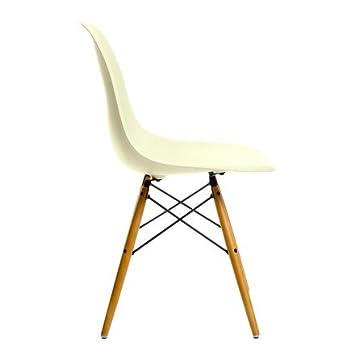Vitra Eames Plastic Side Chair Dsw H 41 Cm Ahorn Gelblich