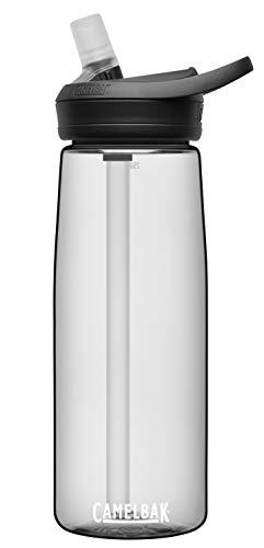 CamelBak eddy+ BPA Free Water Bottle, 25 oz, Clear