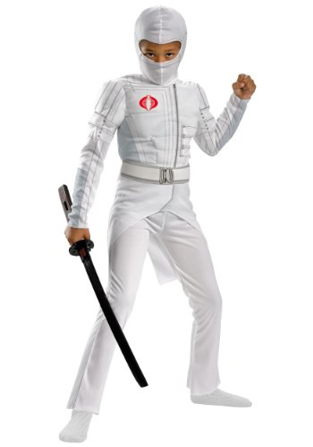 Storm Shadow Light-up Deluxe Muscle Child Costume - Large